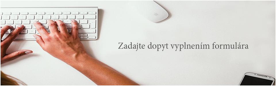 Zadajte dopyt, objednávkový formulár - dhj.sk